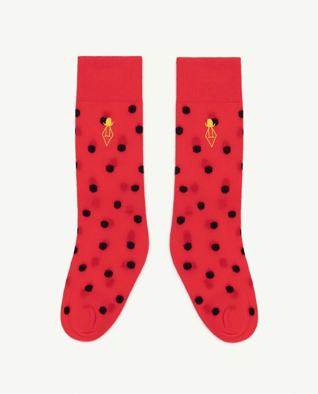 Red Logo Hen Socks