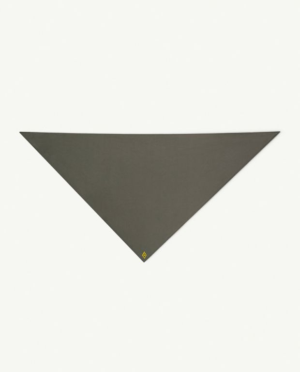 Black Logo Small Ray Handkerchief