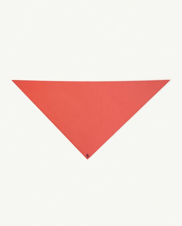 Red Logo Small Ray Handkerchief