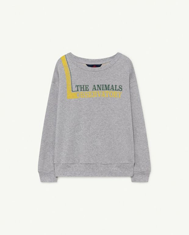 Grey The Animals Bear Sweatshirt