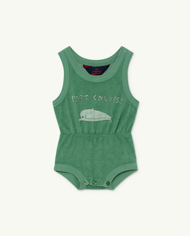 Green Dolphin Squirrel Baby Body