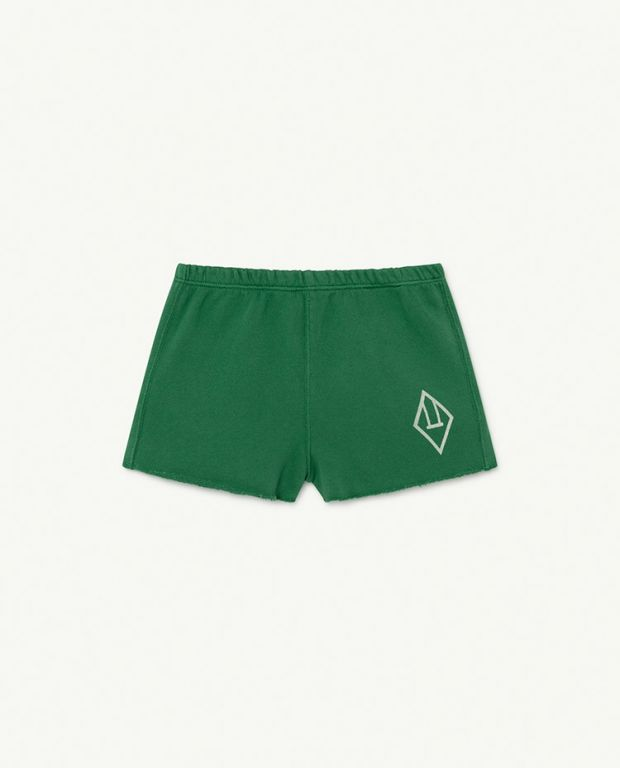 Green Logo Hedgehog Baby Trousers