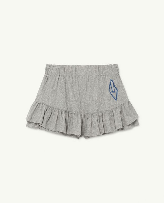 Grey Logo Kiwi Skirt