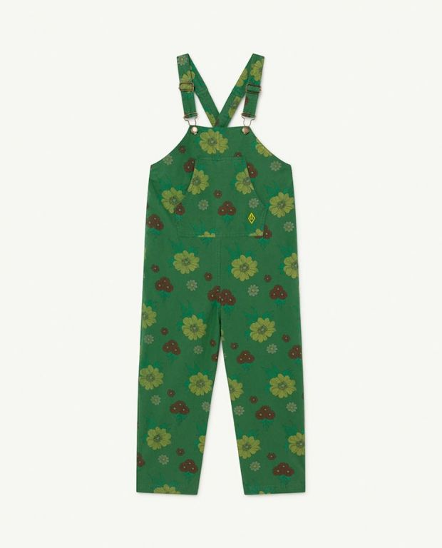 Green Flowers Mammoth Jumpsuit