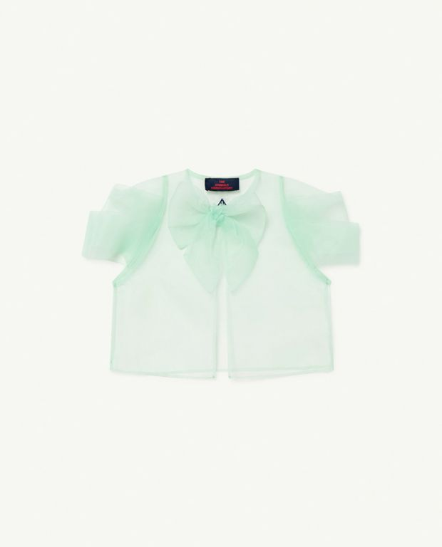 Soft Green Logo Starling Top