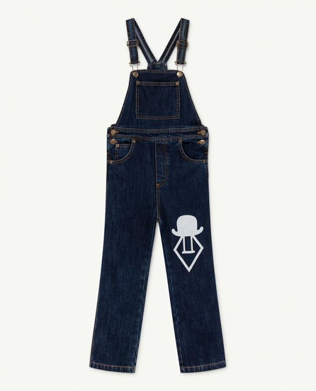 Denim Logo Mule Jumpsuit