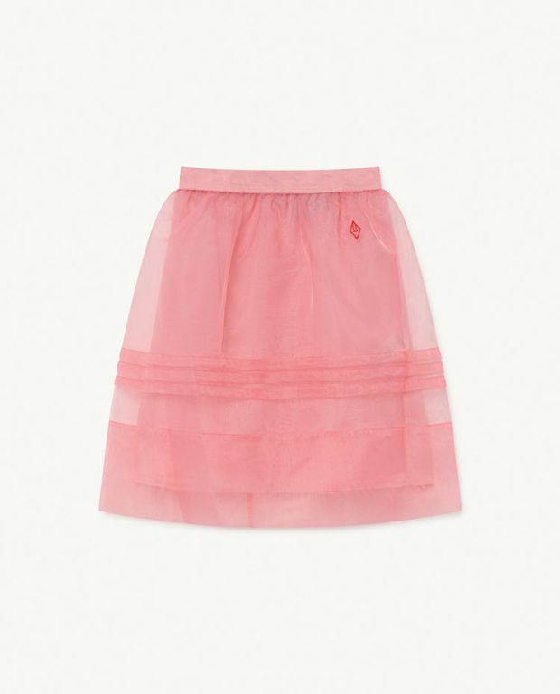Soft Pink Blowfish Skirt