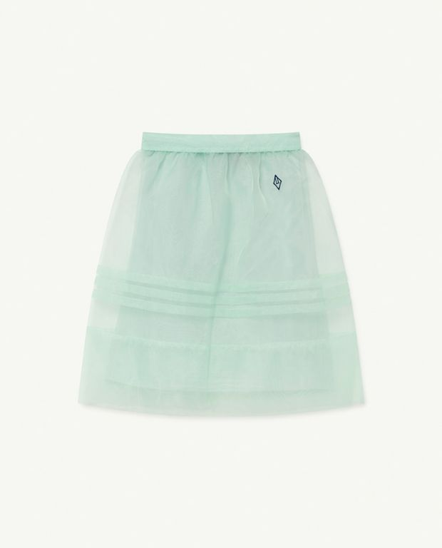 Soft Green Blowfish Skirt