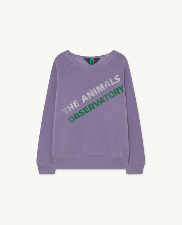 Soft Purple Shark Sweatshirt