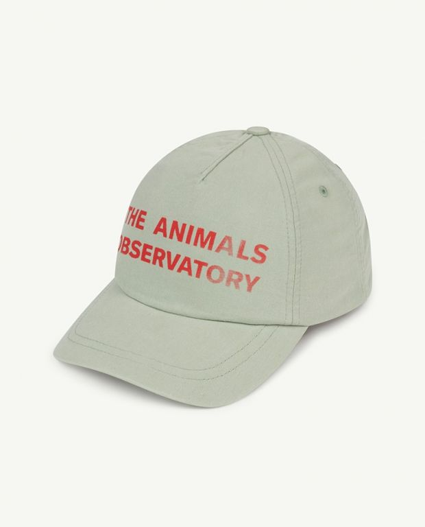 Soft Green Red The Animals Observatory Hamster Cap