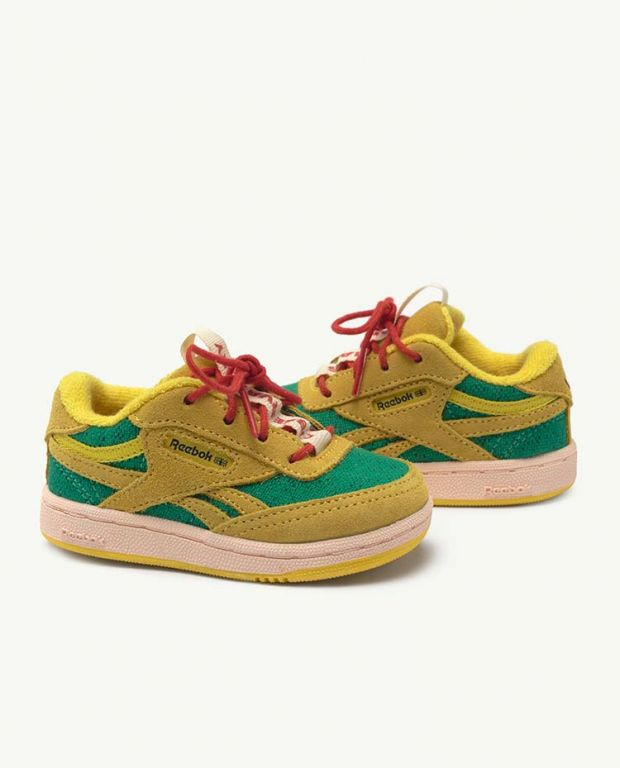 Reebok Club C Revenge Baby x The Animals Observatory Yellow