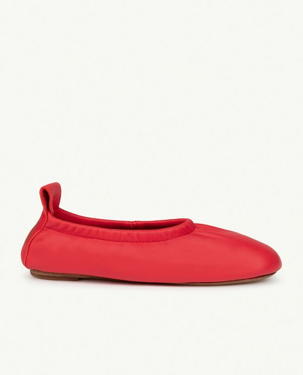 Red Logo Donkey Shoes