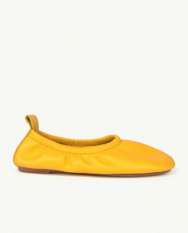 Yellow Logo Donkey Shoes