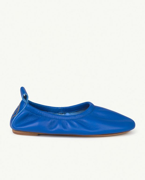 Blue Logo Donkey Shoes