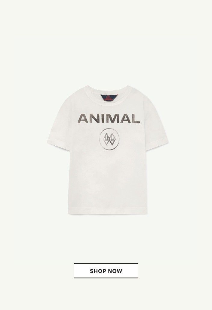 White animal rooster t-shirt