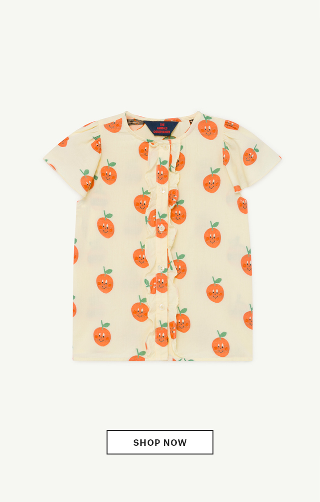 Fruit Parakeet Blouse
