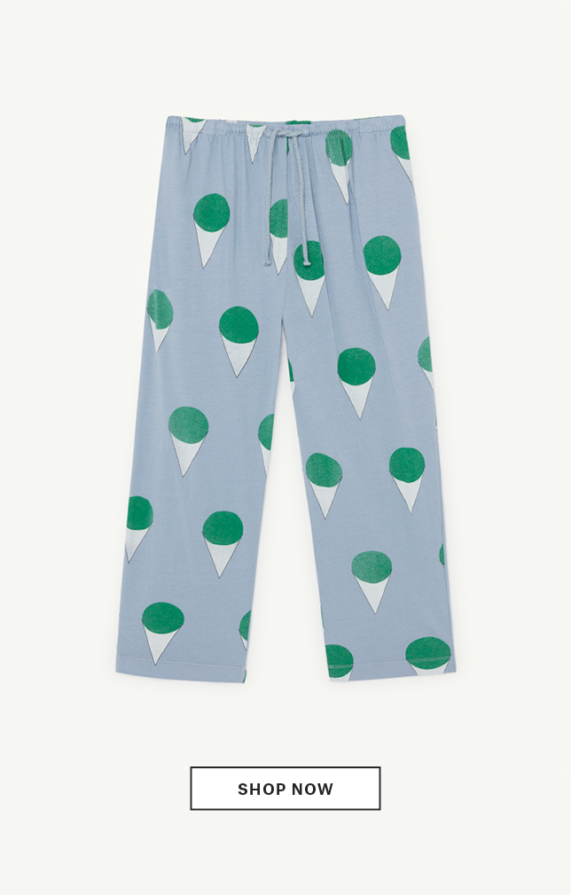 Pale Blue Horse Pants